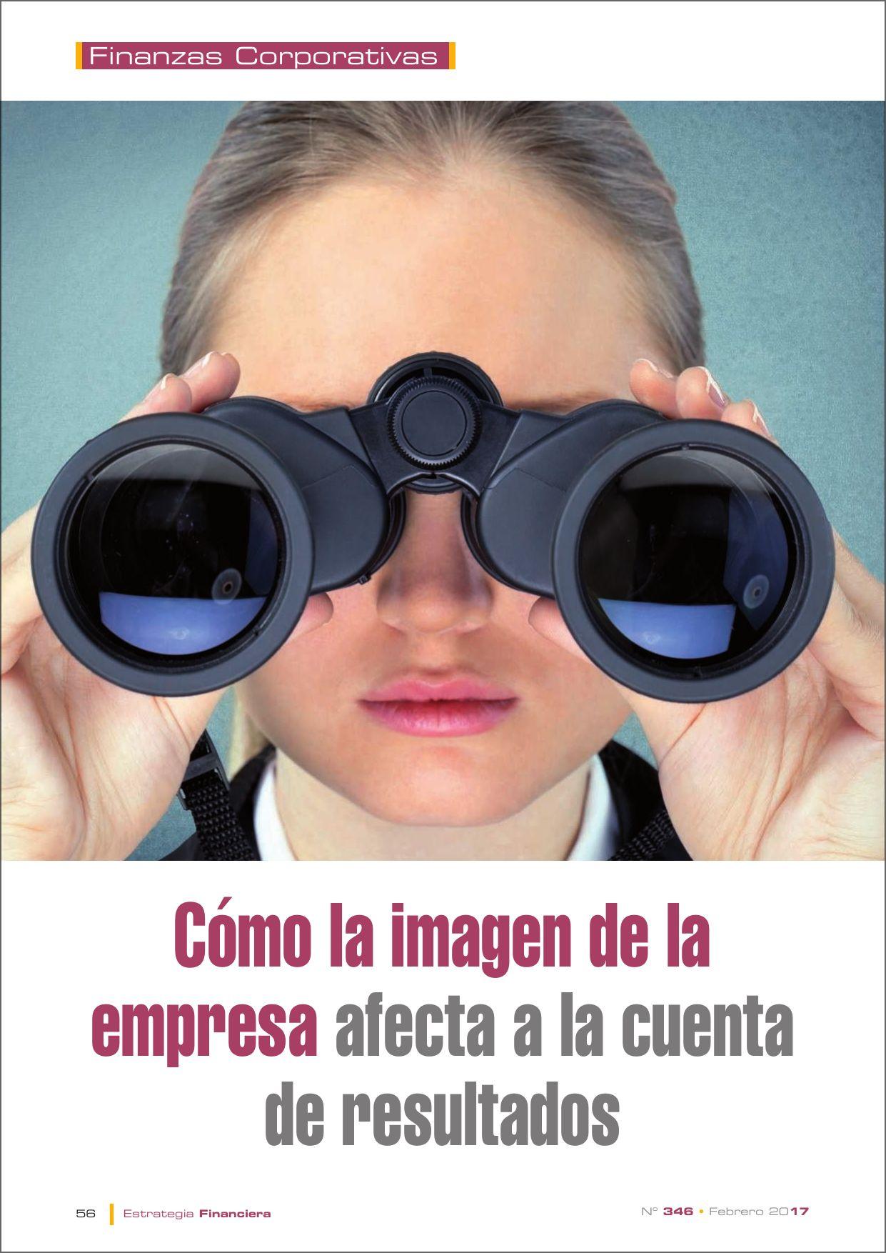 Artículo Estrategia Financiera – Juan M. Comas