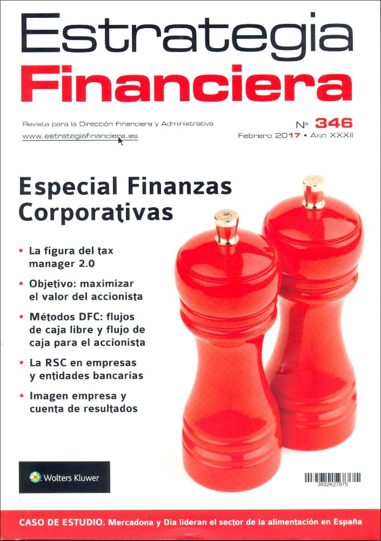Portada Revistas Estrategia Financiera